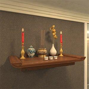 Bàn thờ treo tường 3 tầng vừa Đẹp vừa tiết kiệm diện tích sử dụng 2