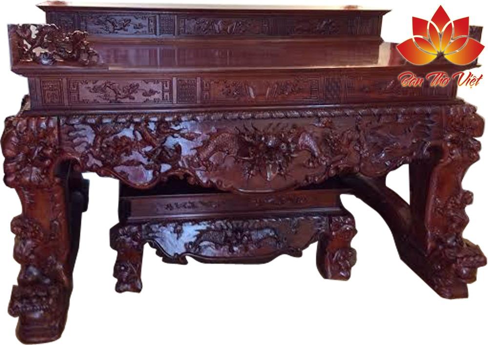 Cách bày trí bàn thờ 3 tầng hợp phong thủy ?