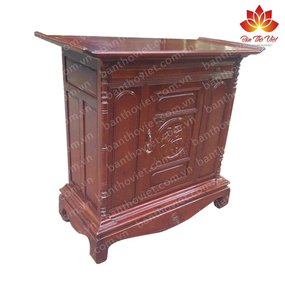 """Cách nhận biết tủ thờ gỗ gụ thật """"CHUẨN XÁC"""" so với gỗ gụ nhái 1"""