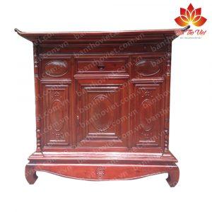 """Tủ thờ gỗ quý """"Độc nhất vô nhị"""" tại Việt Nam mà nhiều người chưa biết 1"""