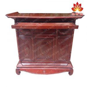 Tủ thờ nên làm bằng gỗ gì tốt nhất thể hiện ý nghĩa tâm linh của gia chủ? 1