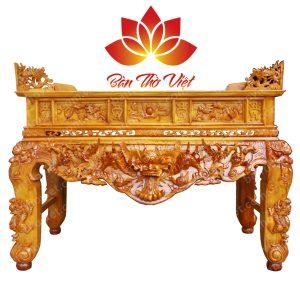 Bàn thờ dùng gỗ gì tốt và hợp với phong thủy gia chủ 2
