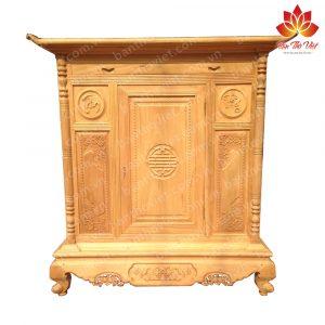 """Tủ thờ gỗ quý """"Độc nhất vô nhị"""" tại Việt Nam mà nhiều người chưa biết 2"""