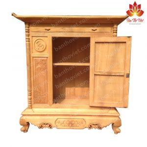 Tủ thờ xoan đào   Ưu điểm để biết có nên chọn làm bàn thờ gia tiên 2