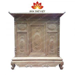 Tủ thờ nên làm bằng gỗ gì tốt nhất thể hiện ý nghĩa tâm linh của gia chủ? 2