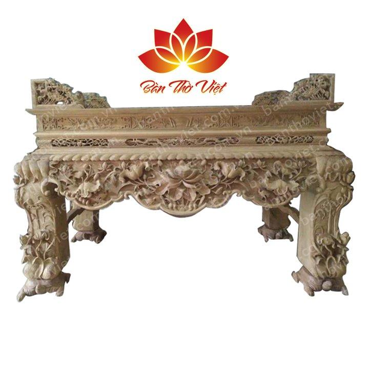 Cách mua sập thờ ở Hưng Yên bằng gỗ gụ chất lượng tốt nhất không tạp