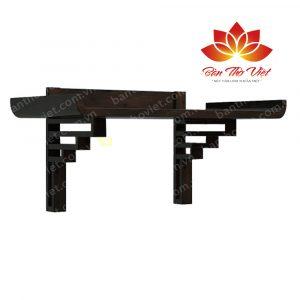 Các mẫu bàn thờ treo gỗ sồi sang trọng và hiện đại nhất 3