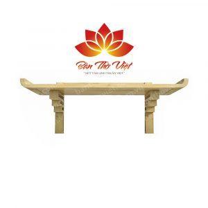Các mẫu bàn thờ treo gỗ sồi sang trọng và hiện đại nhất 1