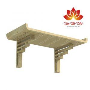 Các mẫu bàn thờ treo gỗ sồi sang trọng và hiện đại nhất 2