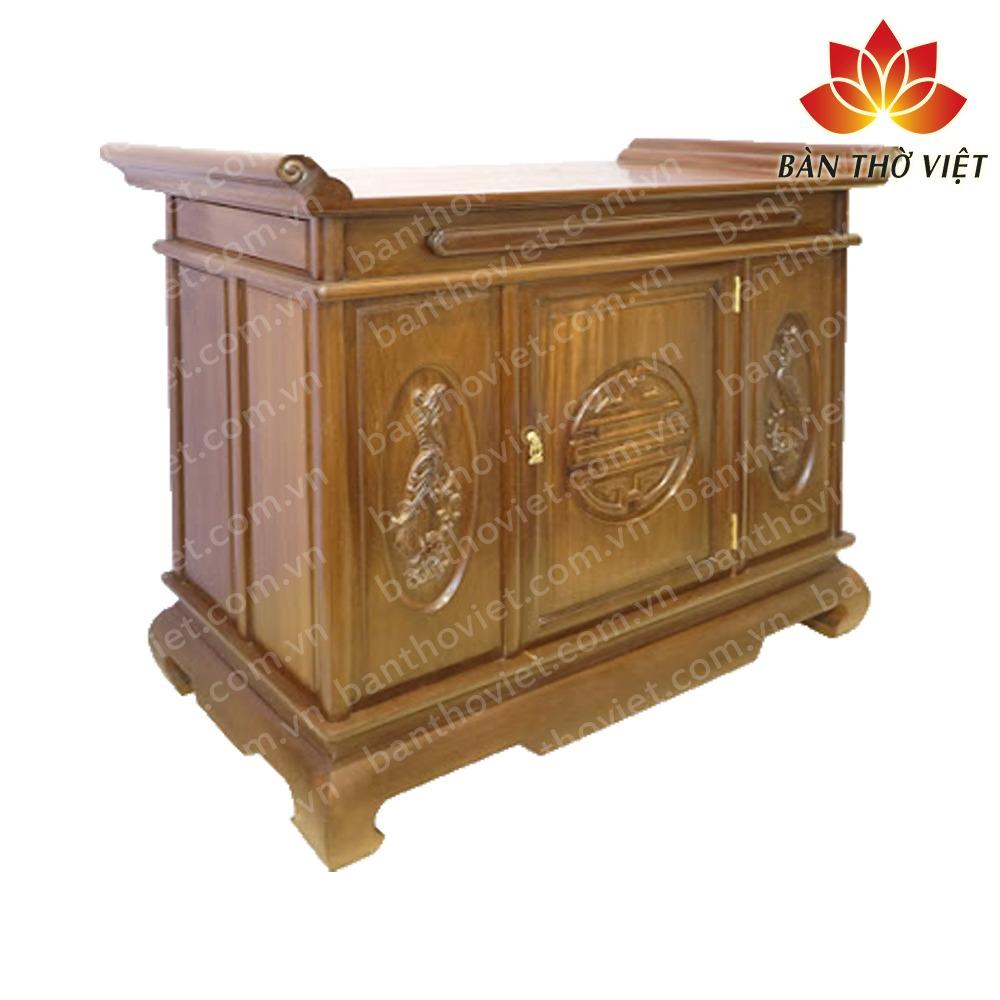 """Cách nhận biết tủ thờ gỗ gụ thật """"CHUẨN XÁC"""" so với gỗ gụ nhái 2"""