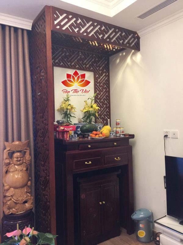 Tổng hợp các mẫu bức vách bàn thờ gia đình đẹp và tinh tế