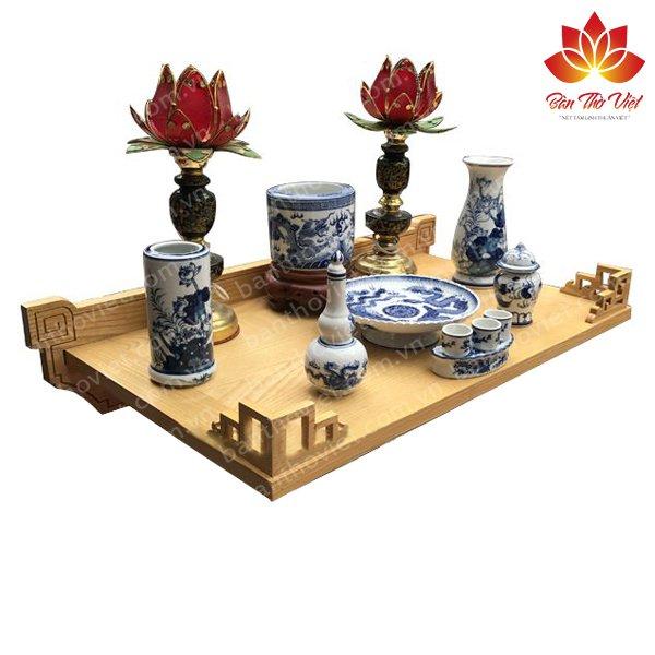 Bàn thờ treo thông minh, mẫu bàn thờ Phú Quý