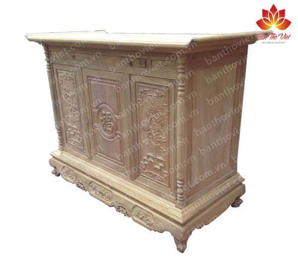 Tủ thờ chữ Phúc Mai Đào TT44