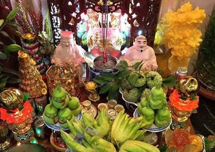 Địa chỉ mua bàn thờ ông Địa - Thần tài đẹp tại Hà Nội 2
