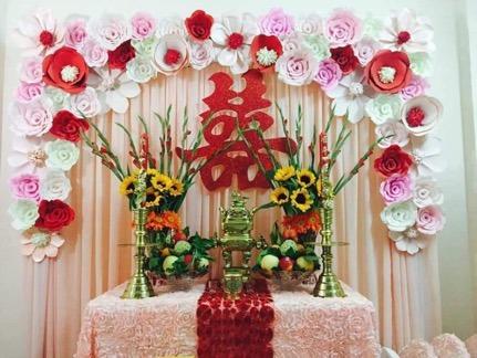 Những vật phải có trên bàn thờ lễ ăn hỏi hay lễ đính hôn 2