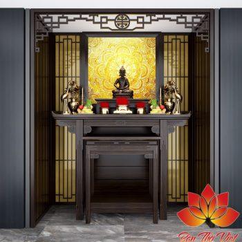 Phòng thờ sang trọng để thờ Phật