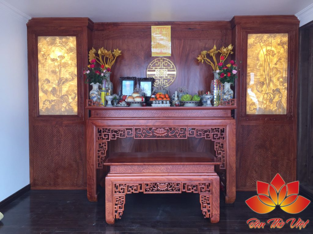 Tủ thờ đồng kỵ - Bàn thờ Việt vượt trên cả sự hoàn mỹ và chất lượng 1