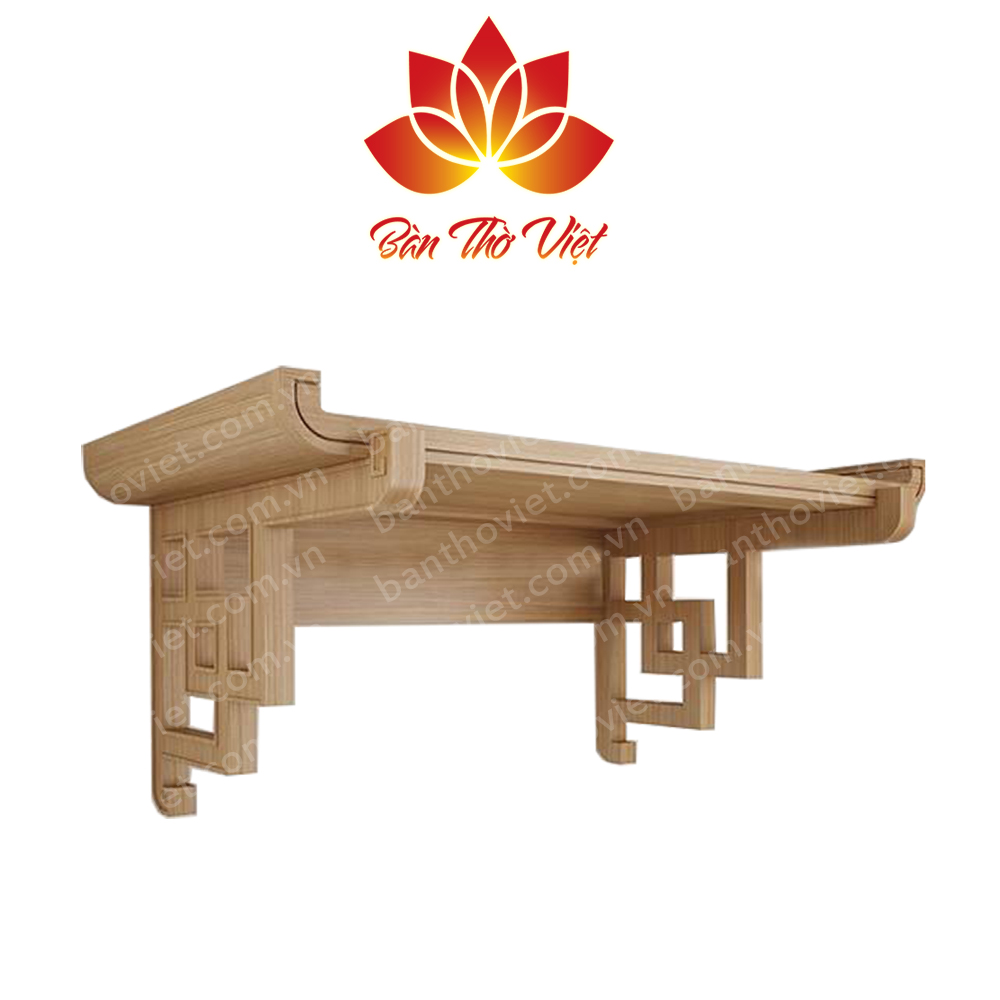 Mẫu bàn thờ treo tường Thanh Hóa đẹp và hợp phong thủy