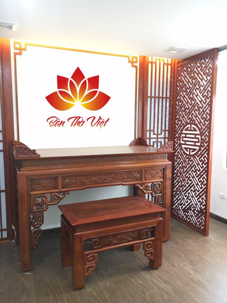 Tủ thờ 2 tầng chất lượng cao giá rẻ nhất tại Hà Nội