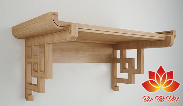 Mẫu bàn thờ treo tường Cầu Giấy Đẹp - Giá rẻ - Chất lượng
