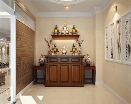 Cách lựa chọn gỗ làm tủ thờ hiện đại hợp phong thủy và đẹp 2