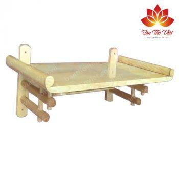 Mẫu bàn thờ treo tường ở Lạng Sơn đẹp được thiết kế phong thủy