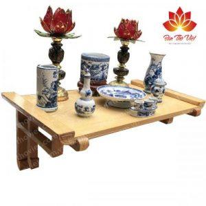 Mẫu bàn thờ treo tường giá rẻ đảm bảo chất lượng