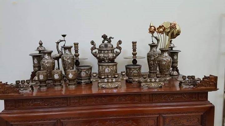 Địa chỉ cung cấp bàn thờ ở Nam Từ Liêm bằng gỗ Mít uy tín chất lượng
