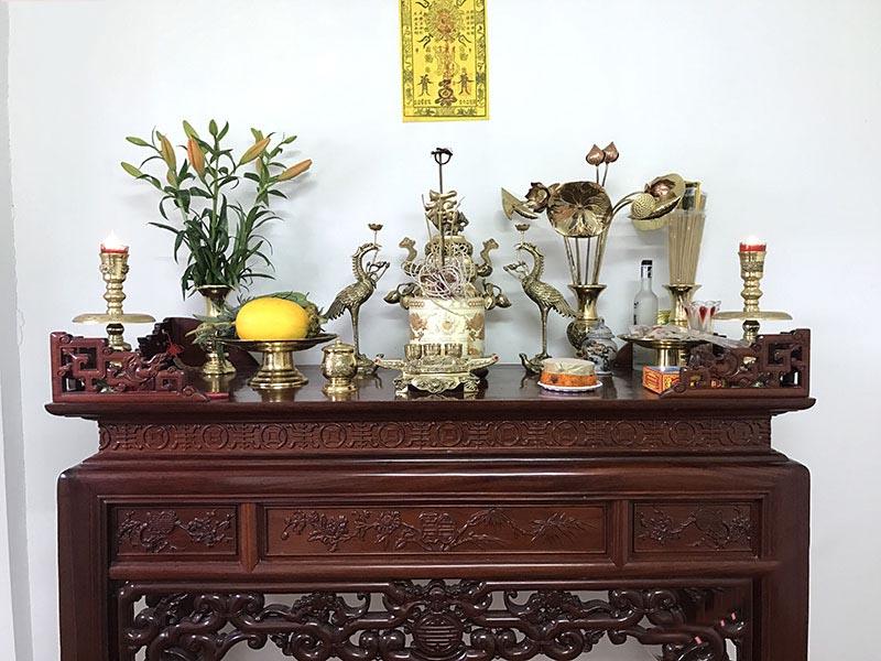 Bàn thờ ở Gia Lâm | Những điều cần lưu ý khi lựa chọn vị trí đặt bàn thờ