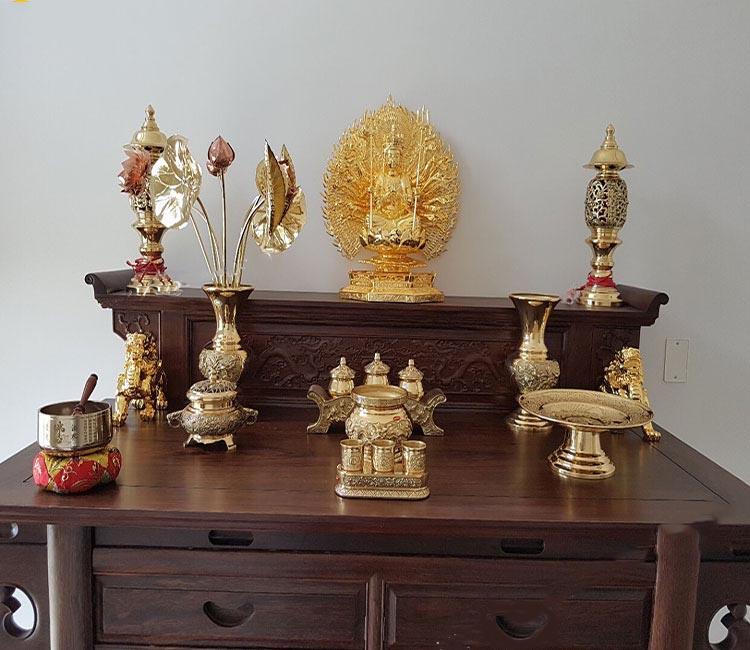 Bàn thờ 2 tầng giá rẻ chất lượng cao với nhiều mẫu đẹp 1