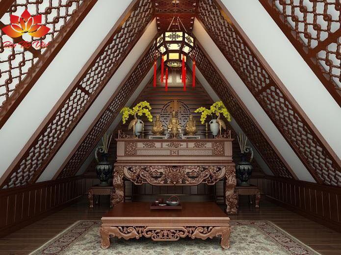 Mẫu sập thờ ở Hạ Long - Quảng Ninh đẹp chuẩn phong thủy