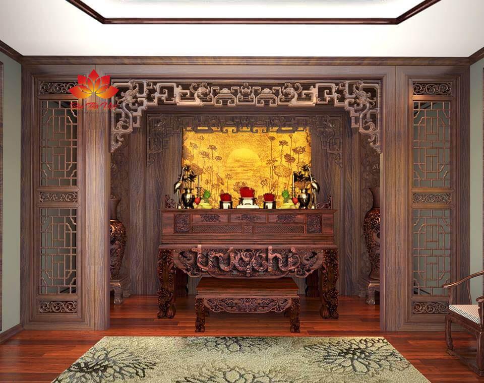 Địa chỉ cung cấp sập thờ Lạng Sơn nổi tiếng