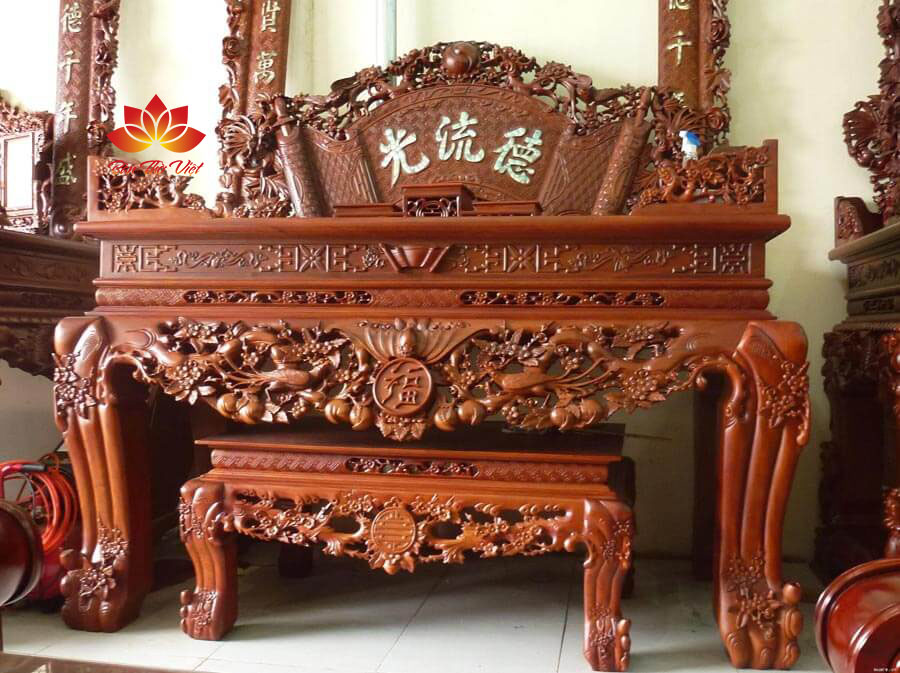 Các mẫu sập thờ ở Nghệ An bán chạy nhất Bàn Thờ Việt