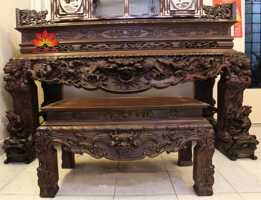 Các mẫu bàn thờ ở Lào Cai đẹp và hợp phong thủy 2