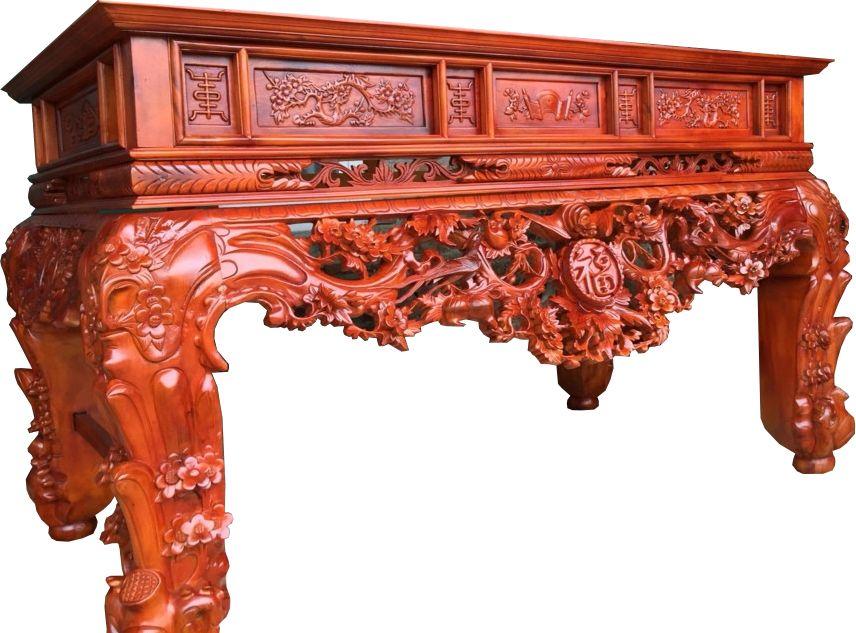 Mẫu sập thờ ở Nam Định được thiết kế chuẩn phong thủy