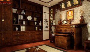 Một số mẫu thiết kế phòng thờ Phật đẹp tại gia đình