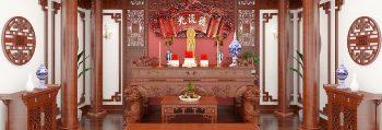 Bàn thờ ở Lạng Sơn   Mẫu bàn thờ ĐẸP chuẩn phong thủy 2019