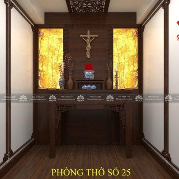 Phòng thờ giữa 2 phòng ngủ vợ chồng thường hay cãi nhau