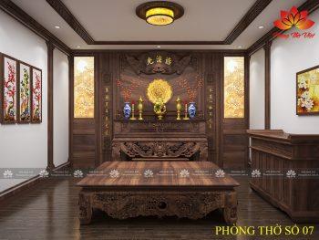 Nên sơn phòng thờ nên sơn màu gì thì hợp phong thủy nhất