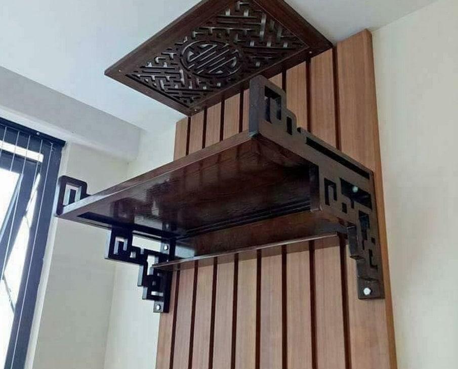 Các mẫu bàn thờ treo tường bản to được ưa chuộng nhất 2019