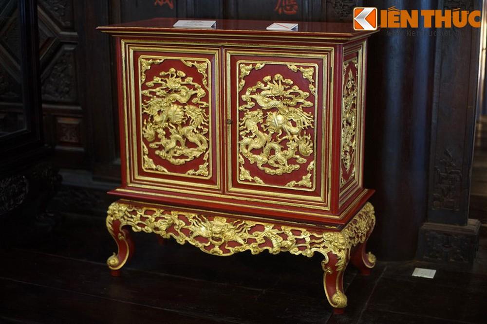 Mẫu tủ thờ sơn son thếp vàng đẹp đảm bảo chất lượng