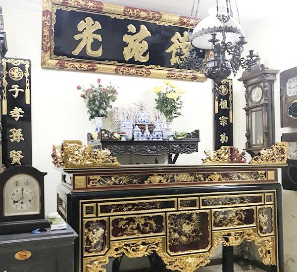 TOP 3 mẫu sập thờ sơn son thếp vàng được ưa chuộng nhất