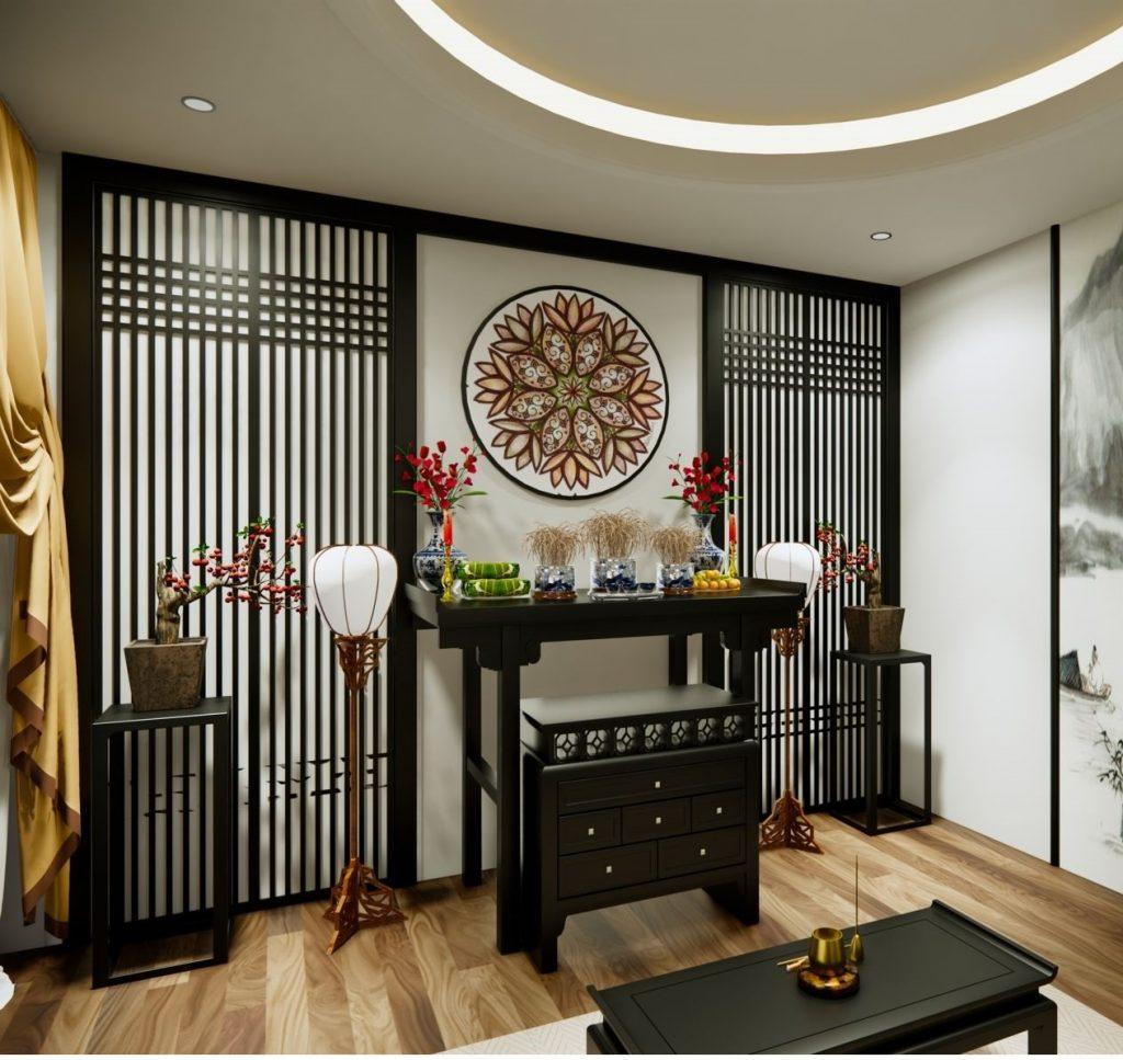 Mẫu thiết kế phòng thờ kiểu Nhật Đẹp
