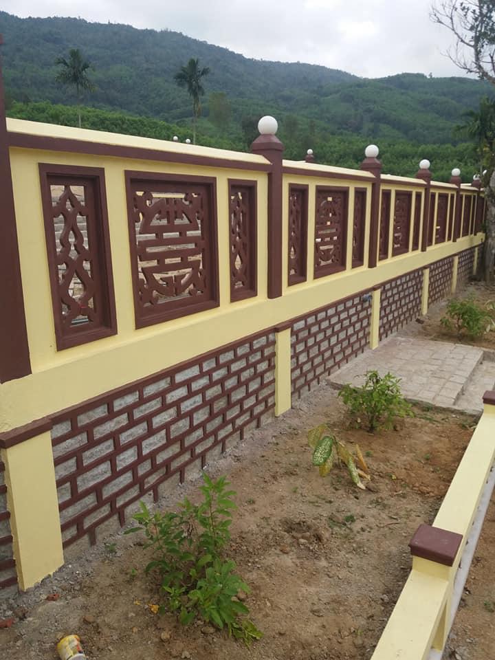 Những thiết kế tường rào nhà thờ họ sang trong, độc đáo