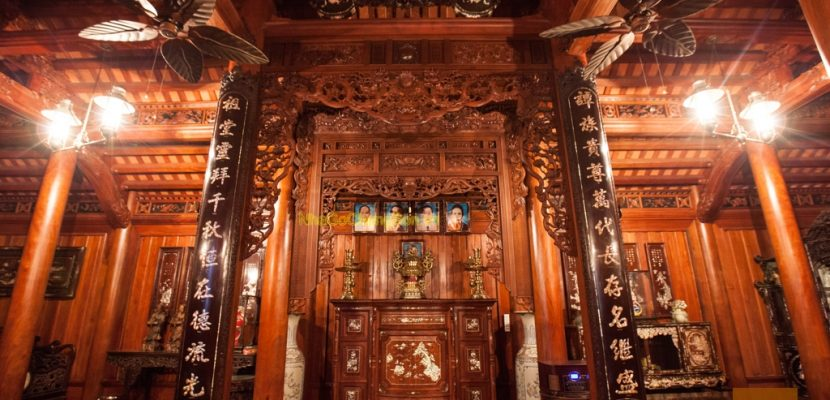 Cách bố trí bàn thờ nhà thờ tổ đúng cách, hợp phong thủy
