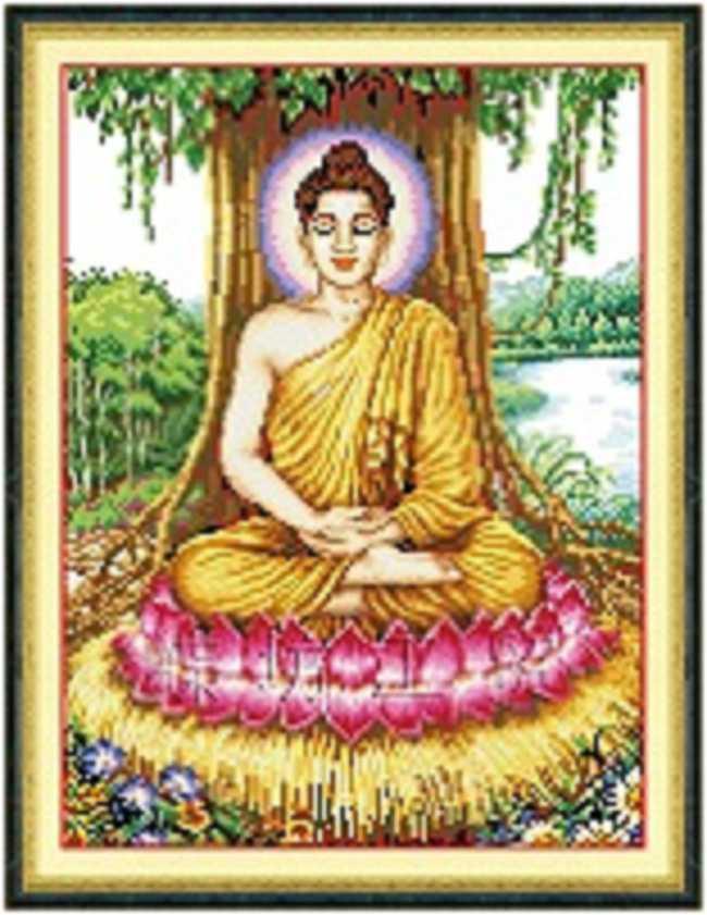 Tranh thêu Phật tổ Như Lai