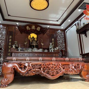 Các mẫu phòng thờ bán cổ điển Đẹp và Sang Trọng nhất