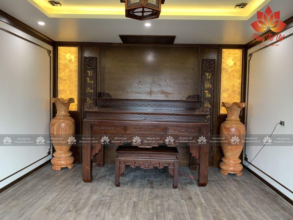 Mẫu phòng thờ cổ điển đẹp 3