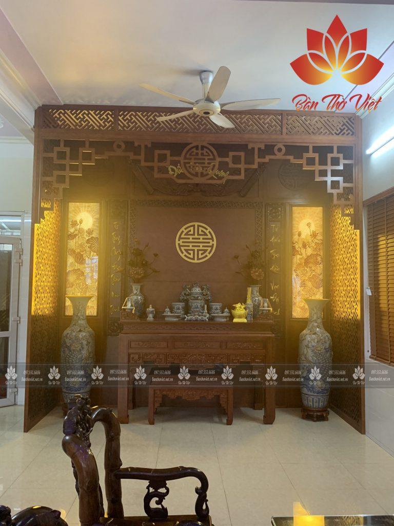 Mẫu phòng thờ đẹp cổ điển 4