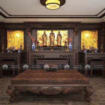 Mẫu phòng thờ cổ điển đẹp 1